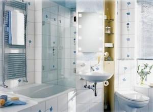Дизайн білої ванної кімнати